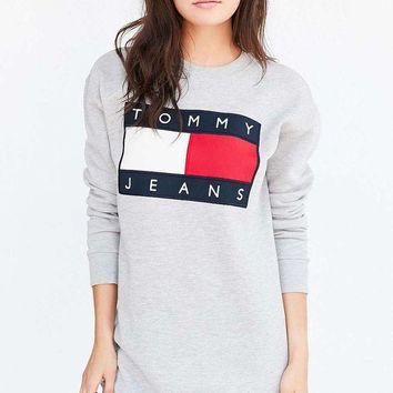 Tommy Hilfiger women 90's Sweatshirt Mini Dress