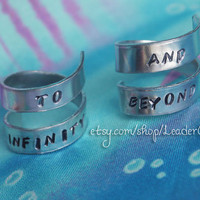 To Infinity And Beyond Best Friend Wrap Rings Twist Rings Version 1