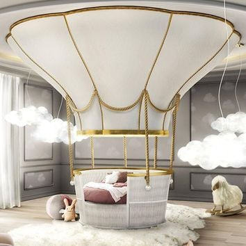 Ballooning Kids Bed for Children Bedroom