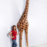 Giraffe Statue 12ft.- Breaking Out