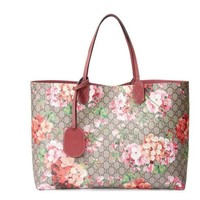 Gucci: GG Blooms Reversible Leather Tote