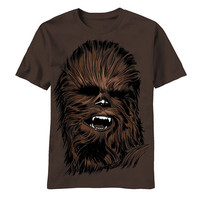 Star Wars Chewy Face Mens T-Shirt