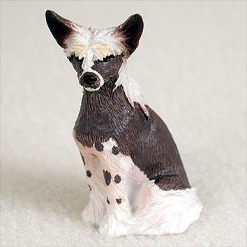 CHINESE CRESTED DOG TINY ONE FIGURINE