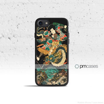 Japanese Dragon Case Cover for Apple iPhone 7 6s 6 SE 5s 5 5c 4s 4 Plus & iPod Touch