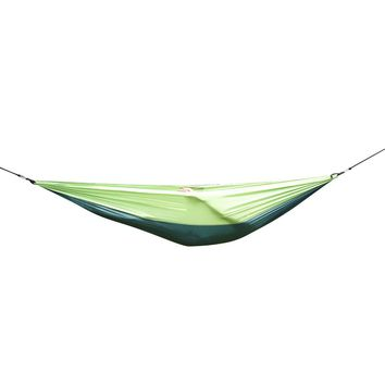 Outdoor Portable Parachute Nylon Fabric Hammock for Two Person Travel Camping