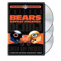 Nfl Greatest Rivalries: Chicago Bears Vs. Green Bay Packers (bears Defeat Packers)