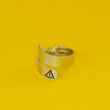 Its Real For Us Wrap Ring