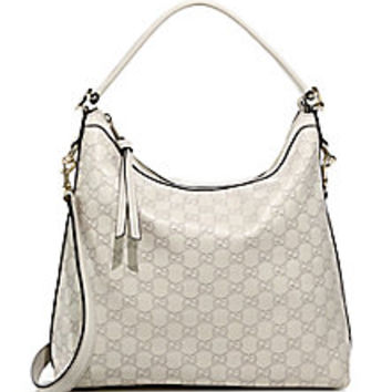 Gucci - Miss GG Guccissima Leather Hobo - Saks Fifth Avenue Mobile
