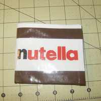 Nutella Duct Tape Wallet