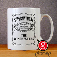 Supernatural The Whinchesters Ceramic Coffee Mugs