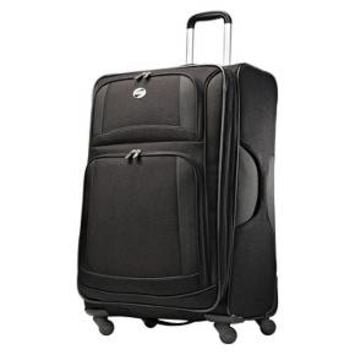 "American Tourister DeLite 28"" Carry On Spinner Luggage - Black"