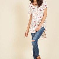 Packing Preserves T-Shirt in Rustic Blossom