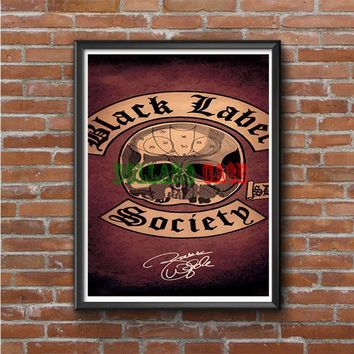 Black Label Society Photo Poster