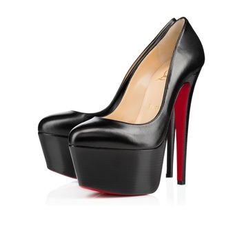 Victoria 160 BLACK/BLACK LUCIDO Kid - Women Shoes - Christian Louboutin