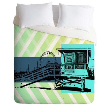 Lifeguard Stand Duvet Cover