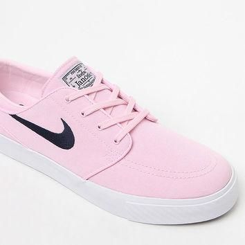 Nike SB Zoom Stefan Janoski Pink Canvas Shoes at PacSun.com