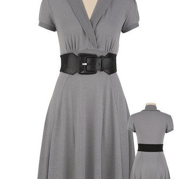 Belted Knit Dress - maurices.com