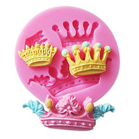 3D Crown Shaped Silicone Mold