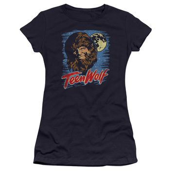 Teen Wolf - Moon Wolf Premium Bella Junior Sheer Jersey Shirt Officially Licensed T-Shirt