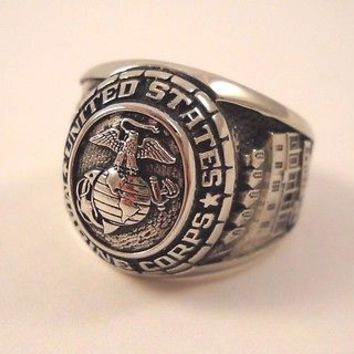 United States Marine Corps Ring by Balfour, Size 11