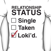 AVENGERS - SINGLE TAKEN LOKI'D Women's T-Shirt
