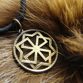 Molvinets Pendant, Ancient slavic amulet, Nordic talisman, Pagan Amulet, Slavic Jewelry,  Gift for him, Gift for her