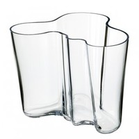 Aalto vase 160 mm, clear