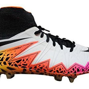 DCCK8BW Nike Hypervenom Phantom II SG-Pro Mens Football Boots 747489 Soccer Cleats (US 8 white black total crimson 109)