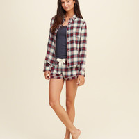 Flannel Sleep Shirt