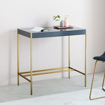 Zane Mini Desk - Navy