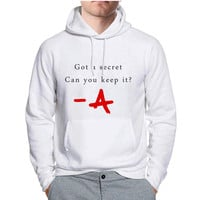 Pretty Little Liars Keep The Secret Hoodie -tr3 Hoodies for Man and Woman