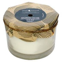 Pure and Natural Saltwater Orchid 12.7 oz Candle : Target