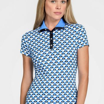 Tail Ladies & Plus Size Ophilia Short Sleeve Golf Tops - PACIFIC VIEW (Ion)