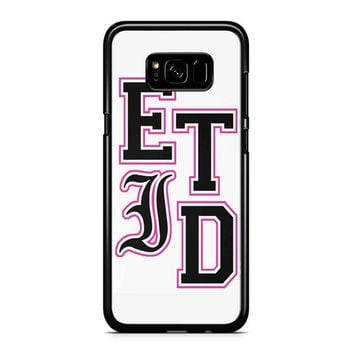 Every Time I Die Varsity Letters Samsung Galaxy S8 Case