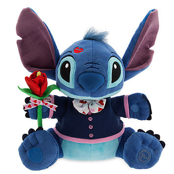 Stitch Plush - Valentine's Day - Medium - 14''