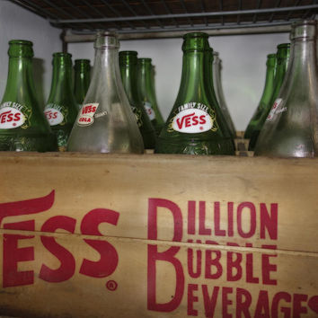 Billion Bubble Vintage Bottles by Ann Powell