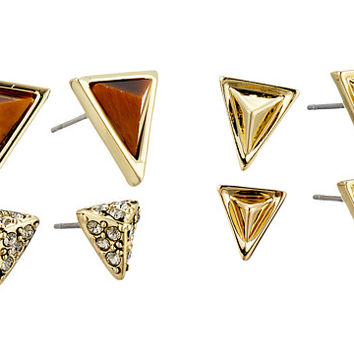 House of Harlow 1960 Meteora Stud Set Earrings Gold 1 - Zappos.com Free Shipping BOTH Ways