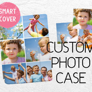 Custom Photo Smart Cover, Personalized iPad Air smart cover case, iPad Air, iPad Air 2 custom photo case