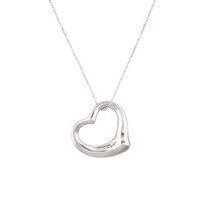 Tiffany & Co. Open Heart Necklace