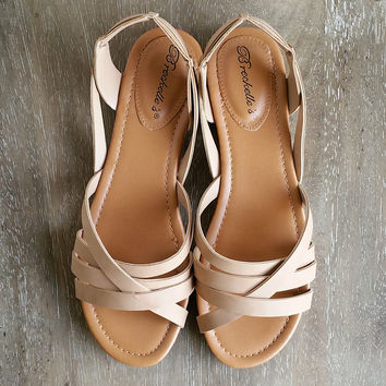 A Boho Sandal in Natural