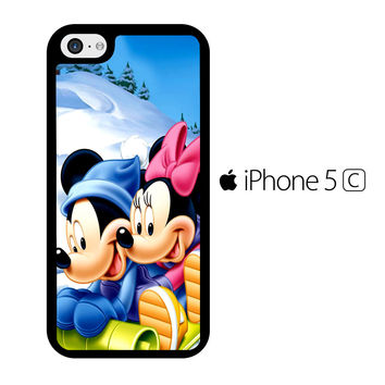Mickey Mouse and Minnie Mouse iPhone 5C Case