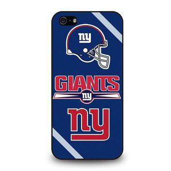 NEW YORK GIANTS NY iPhone 5 / 5S / SE Case Cover