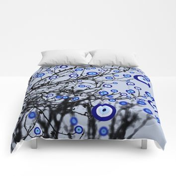 Evil Eye Tree Comforters by UMe Images