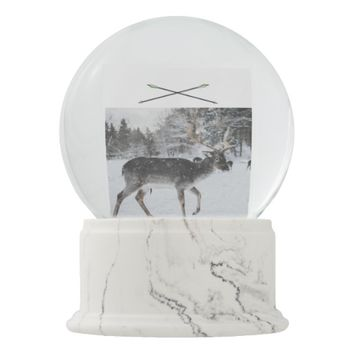 Live To Hunt Snow Globe