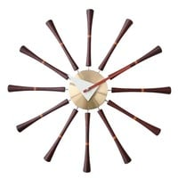 Pre-owned George Nelson Style Reproduction Spindle Clock