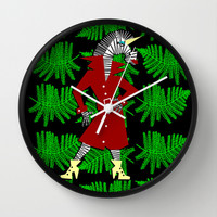 Zebracorn Wall Clock by That's So Unicorny