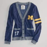 Michigan Vintage Varsity Cardigan | American Eagle Outfitters