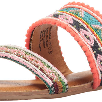 Not Rated Women's Spira Slide Sandal Multi 7 B(M) US '