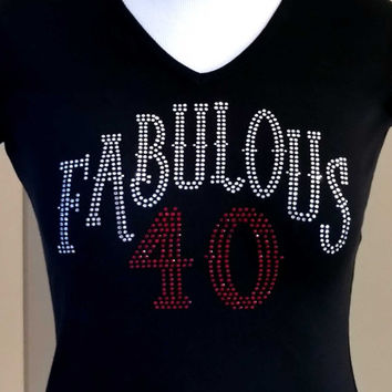 FABULOUS 40,50 or 60 T-shirt