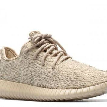 PEAPN Ready Stock Adidas Yeezy Boost 350 'oxford Tan' Sport Running Shoes